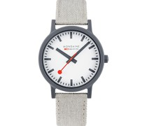 -Uhren Analog Quarz Hellgrau 32015953