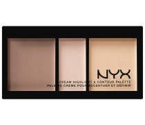 88 g Nr. 01 - Light Cream Highlight & Contour Palette Highlighter