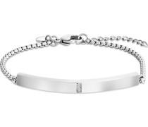 -Armband Edelstahl 3 Zirkonia One Size 87780015
