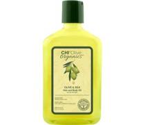 Olive & Silk Hair Body Oil
