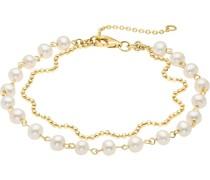 -Armband 333er Gelbgold Süßwasser One Size 87558428