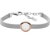 -Armband Edelstahl Glasstein One Size 32013323