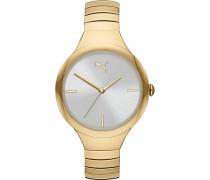 -Uhren Analog Quarz Gold 32012497