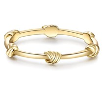 Ring Sterling Silber in Gelbgold Ringe