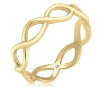 Ring Infinity Trend 375 Gelbgold