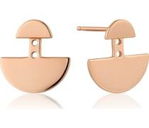-Ohrstecker Geometry Ear Jackets 925er Silber Gold 32014217