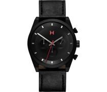-Uhren Analog Quarz Schwarz/Schwarz 32014823
