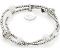 -Armband Edelstahl/Glas One Size 87654575