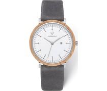 -Uhren Analog Quarz One Size Kalbsleder 87873871