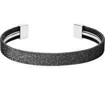 -Armband Edelstahl Schwarz/Silber 32010714