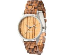 Unisex-Uhren Analog Quarz Sandelholz Holz 32015177