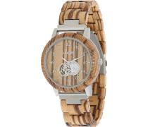 -Uhren Analog Automatik One Size Holz 88139216