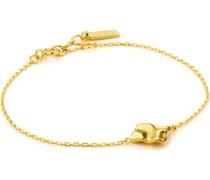 -Armband Crush Square Bracelet 925er Silber Gold 32014143
