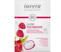 Drachenfrucht & Himbeere - Glow Tuchmaske 21g