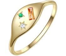 -Damenring 925er Silber Zirkonia 56 32015494