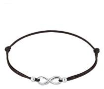 Armband Infinity Trend Symbol Elastisch 925 Silber