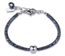 -Armband Edelstahl Hämatit One Size 87579298