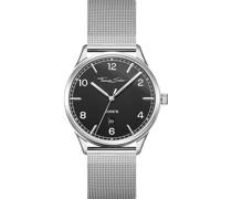 -Uhren Analog Quarz One Size Edelstahl 87663515