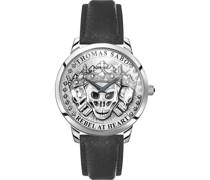 -Uhren Analog Quarz One Size Leder 87792749