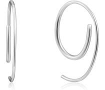 -Creolen Twist Through 925er Silber One Size 87994554