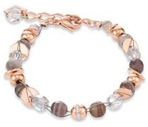 -Armband Edelstahl Swarovski-Kristall Hellblau 32012988