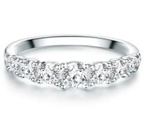 Ring Sterling Silber Zirkonia silber