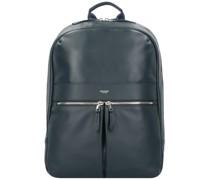 Mayfair Luxe Beaux Rucksack RFID Leder 42 cm Laptopfach