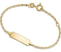 Unisex-I.D.-Armband 333er Gelbgold One Size 79362662