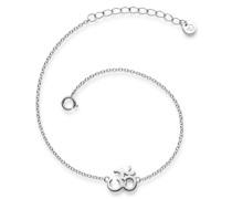 Armband Om-Zeichen Sterling Silber silber Silberarmband