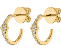 -Ohrstecker 375er Gelbgold 20 Diamant One Size 32011941