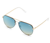 High Key Mini Rimless Sonnenbrille