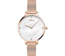 -Uhren Analog Quarz One Size Edelstahl 87425151