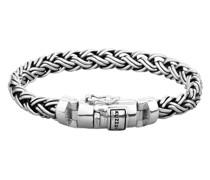 Armband Panzer Zopf Optik Königskette 925 Silber