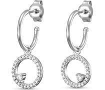 -Ohrstecker 925er Silber 1 Zirkonia One Size 87957101