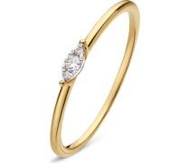 -Damenring 3 Diamant 60 32013487