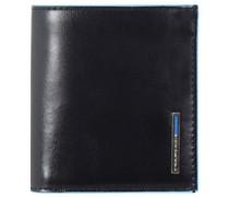Blue Square Geldbörse Leder 10,5 cm