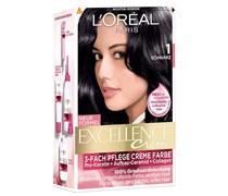 172 ml  Nr. 1 - Schwarz Creme Color Haarfarbe