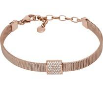 -Armband Edelstahl Glasstein One Size 88172299