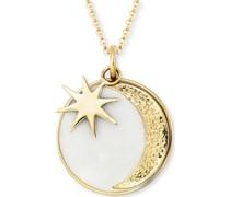 -Kette Kette Sonne, Mond & Stern 925er Silber One Size 87928136