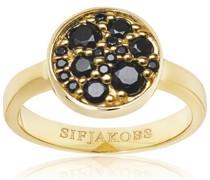 -Ring 925er Silber Farbstein 54 32005984