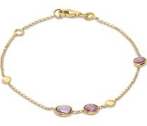 -Armband 375er Gelbgold 2 Rubin One Size 87998487
