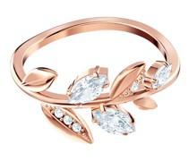 -Damenring Metall Kristalle 58 32005501