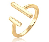 Ring Geo Stab Minimal Trend Blogger 925 Sterling Silber