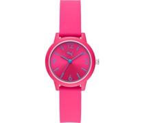 -Uhren Analog Quarz Weiss Silikon 32015117