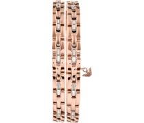 -Armband Edelstahl Glasstein One Size 87966356