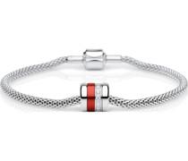 -Armband Edelstahl/Aluminium Zirkon 21 32011481
