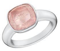Ring für, Sterling Silber 925, Rosenquarz