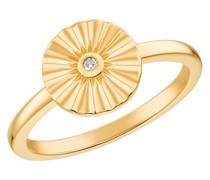 Ring für, 925 Sterling Silber vergoldet