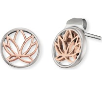 -Ohrstecker Lotus 925er Silber rhodiniert One Size 87847331