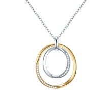 Halskette Sterling Silber Zirkonia (CZ)